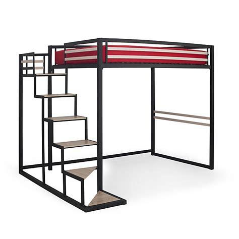 lit à étage avec bureau chambre avec lit mezzanine 2 places chambre ado fille