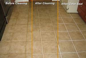Grout line sealing and grout quotcolor sealingquot mighty for How to seal grout on tile floor