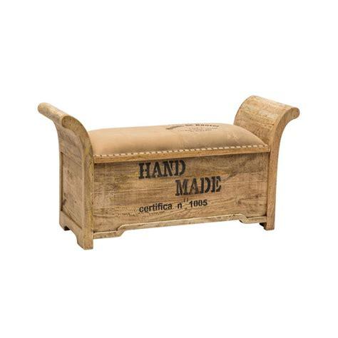 divanetto legno panchetta divanetto legno imbottitura cotone 120cm