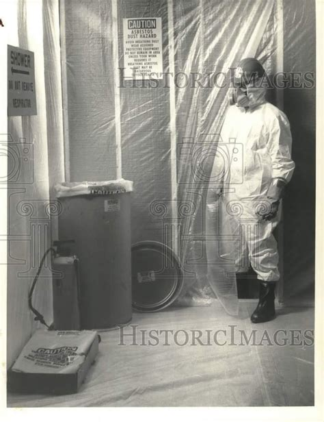 press photo allwash  syracuse employee  asbestos