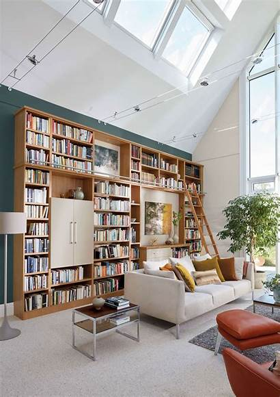 Library Oak Study Furniture Case Lounge Inspiration