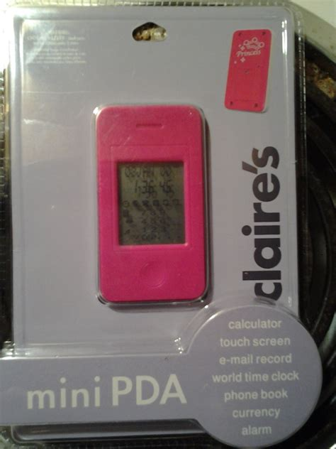 mini pda  claires   electronics