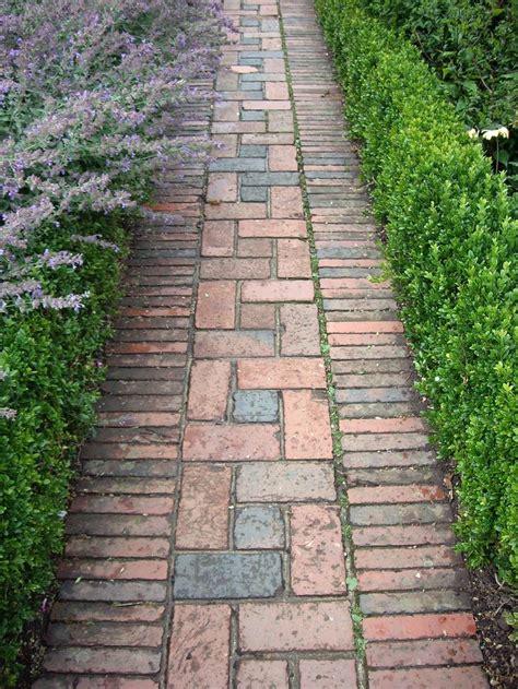 brick pathways landscaping best 25 brick path ideas on pinterest