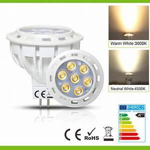 Gu5 3 Led : mr16 gu5 3 led light spot bulb ac dc 12v warm white ~ Edinachiropracticcenter.com Idées de Décoration