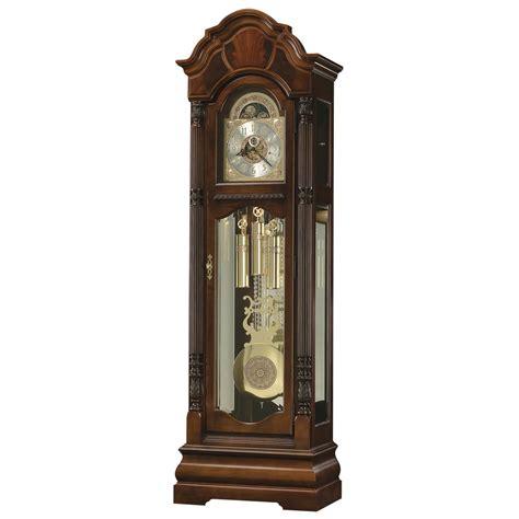 howard miller curio howard miller winterhalder ii mechanical floor clock 611188