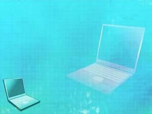 Powepoint Themes Laptop 01 Powerpoint Template