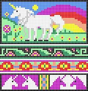 Dragon Knitting Chart Ravelry Some More Unicorn Charts Pattern By Melanie Nordberg