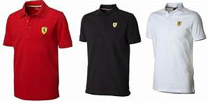Ferrari Polo Shirt : ferrari mens classic polo shirt red black white rrp ~ Kayakingforconservation.com Haus und Dekorationen