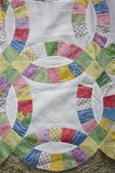 wedding ring quilt pattern wedding ring quilt top