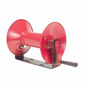 Manual Hose Reel 100 U0026 39  Capacity 4687