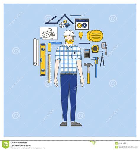 mechanical engineer royalty  stock image