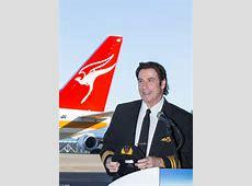 Qantas unveils retrojets led by discoloving pilot John