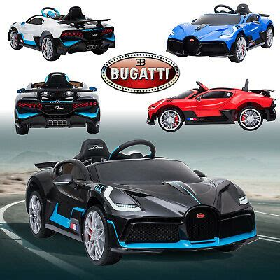 We may earn money from the links on this page. Licensed Bugatti Divo 12V Ride On Children's Battery ...