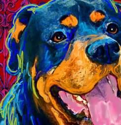 Dog Art Rottweiler