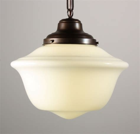 three matching antique schoolhouse pendant lights nc799