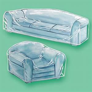 Clear furniture covers plastic furniture covers walter for Clear garden furniture covers