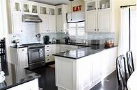 pictures of white kitchens Decorating with White Kitchen Cabinets | DesignWalls.com