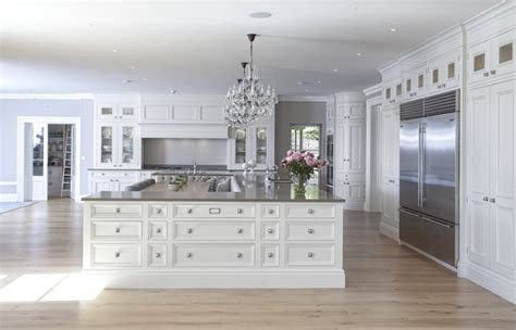 U Shaped Kitchen Island Transitional kitchen Hayburn and Co