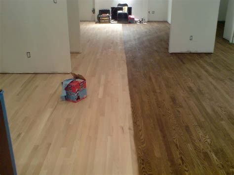Staining Hardwood Floors Darker by Choosing Hardwood Floor Stains Wood