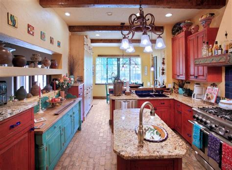southwest kitchen colors southwestern kitchen design an explanation of the 6 most 2410