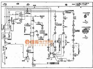 Toyota Coaster Coach Power Supply  Starter  Motor Circuit