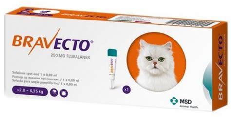 msd pack   bravecto  mg loesung zum auftropfen auf die