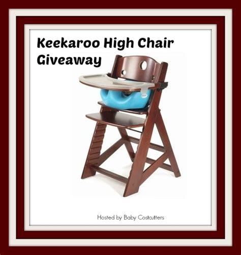 keekaroo high chair keekaroo height right high chair giveaway ends 10 02 13