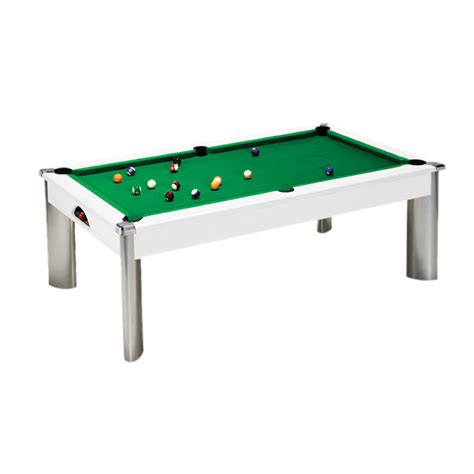white pool table dining table white dpt fusion dining pool table amazon leisure