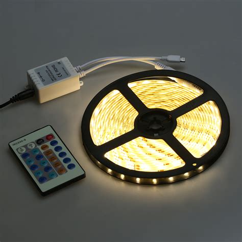 12v dc power led lights kit warm white