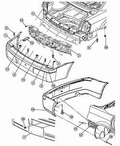 Chrysler 300 Fascia  Rear  Chrysler Srt8  With Sales Code