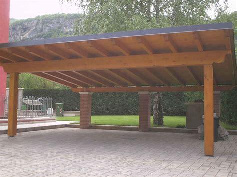tettoia legno auto tettoia posto auto in legno verona tetti in legno