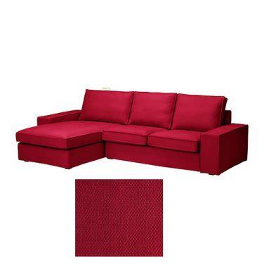 ikea kivik 2 seat loveseat sofa w chaise lounge slipcover
