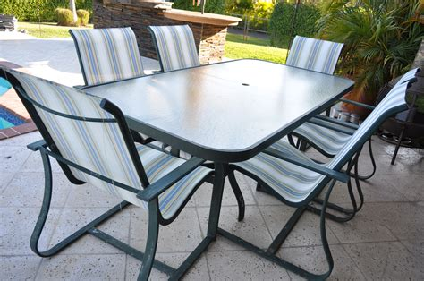 outdoor furniture tables only patio furniture table and 6 chairs the hull truth