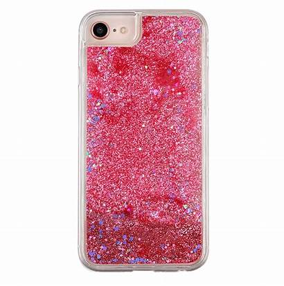 Pink Glitter Iphone Holographic Case