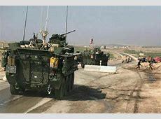 US Troops Patrol Syrian Town in Peacekeeping Effort