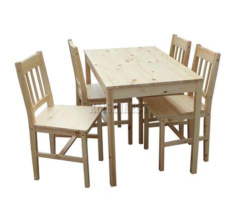 westwood quality solid wooden dining table   chairs