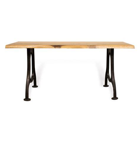 live edge oak table lance industrial live edge french oak console table 71