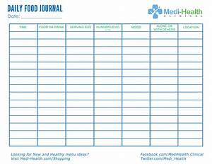download free daily food journal foodjournal With keeping a food diary template