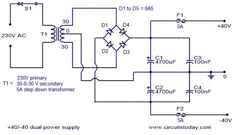 watt amplifier circuitcircuit diagram world
