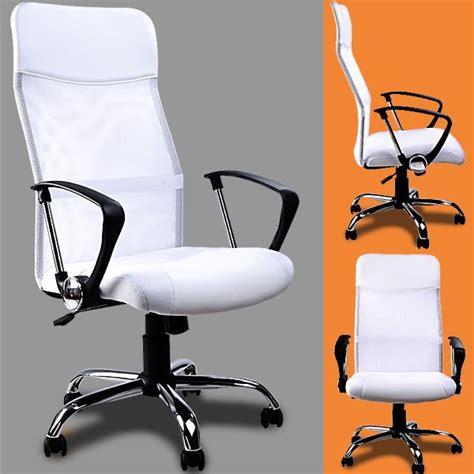 chaise bureau blanche le monde de l 233 a