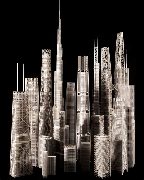 Engineering Architecture: 20 Models Reveal How Skyscrapers
