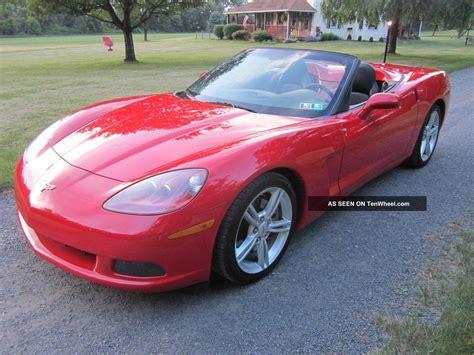 2008 Chevrolet Corvette V8 Red