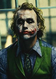 Heath Ledger as Joker in Batman