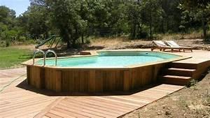 Piscine Hors Sol : piscine bois vacances arts guides voyages ~ Melissatoandfro.com Idées de Décoration