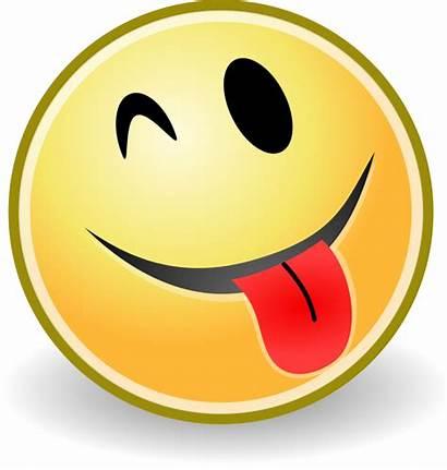 Tongue Smiley Face Svg Espiegle Clipart Smileys