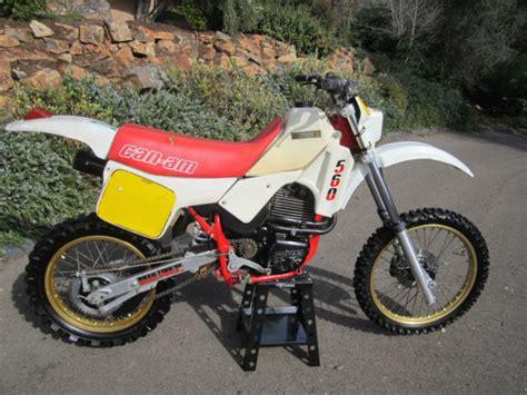 can am motocross bikes rare can am sonic 560 ultra rare enduro motocross