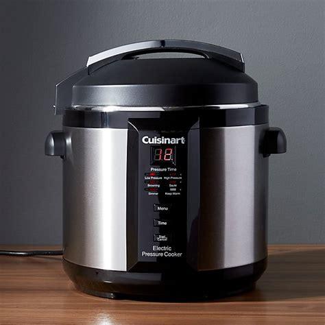 cuisinart  quart electric pressure cooker reviews