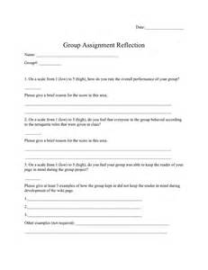 Reflection Worksheets 17 Best Images Of Reading Reflection Worksheet 7th Grade Reading Worksheets Behavior