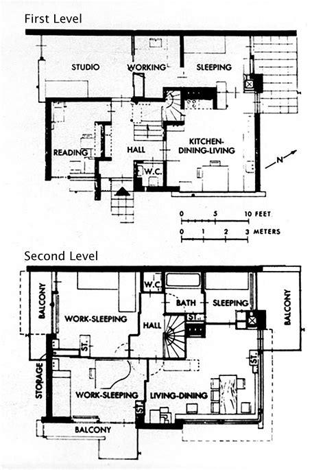 Rietveld Schroder House Floor Plans