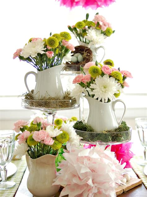 Colorful Spring Table Setting  Entertaining Ideas & Party
